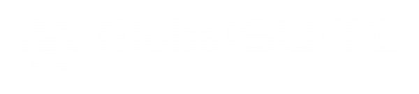 logo globalSUITE blanco